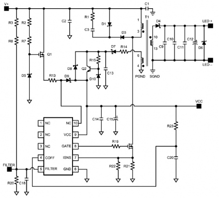 solar led wall light supplier figure 2 shows a schematic which can be used the t8 tube an efficiency higher than 85% and ac line injection circuitry that enables pfc