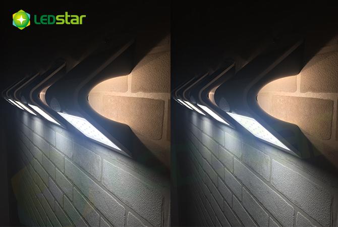 Solar Led Wall Light 1 5wplus Butterfly White Ledstar