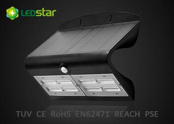 Solar Led Wall Light 6 8w Butterfly Black Ledstar Solar Led Lights Manufacturer