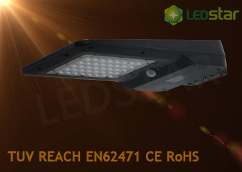 Solar LED Street Garden Light-15W